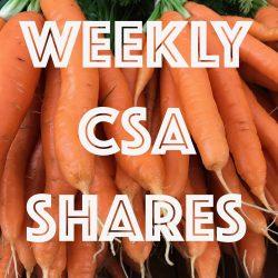 Weekly CSA Shares